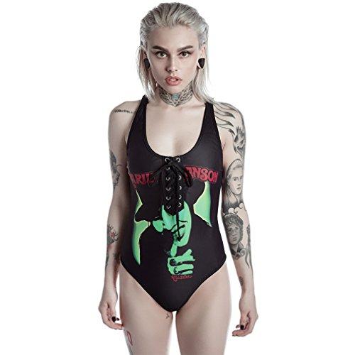 Killstar X Marilyn Manson Badeanzug - I Put A Spell On You L