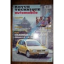 Golf IV-Bora Ess Revue Technique Volkswagen