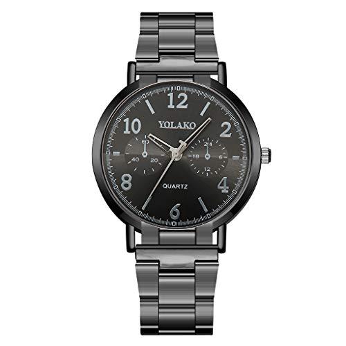 de Quartz Classic Armbanduhr Einzigartige Minimalism Damenuhr Analog Ultradünne Uhren für Frauen Geschenk 2019 LEEDY ()