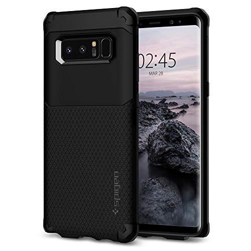 Spigen Samsung Galaxy Note 8 Hülle, [Hybrid Armor] Doppelschicht Schutz Schutzhülle für Samsung Note8 Hülle Case Cover - Black (587CS22075)
