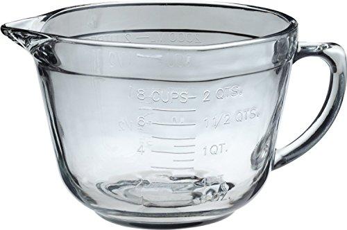 Anchor Hocking 2Quart Ofenfeste Glas Teig Schüssel, Set 4 (Glas Rührschüsseln Anchor Hocking)