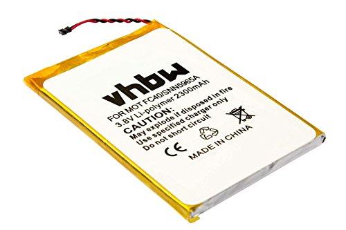 vhbw Li-Polymer Batterie 2300mAh (3.8V) pour téléphone portable Smartphone Motorola Moto G 2015, G 3rd gen, G3, G3 Dual Sim, XT1540 comme FC40.