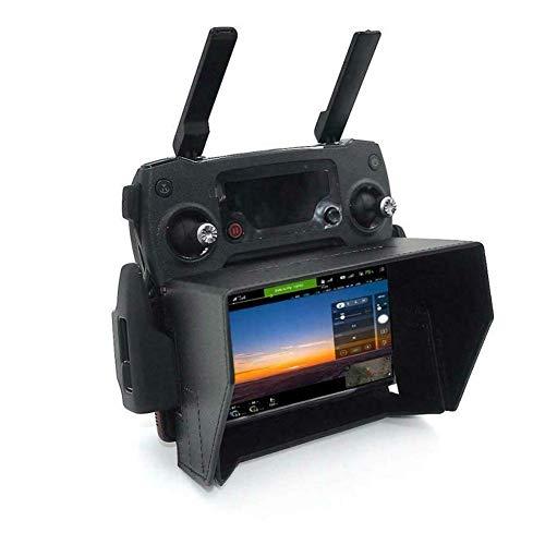 Gcdn Drone Fernbedienung Sun Kapuze Faltbar Sun Display, Sonnenschatten Protecor für 4.7-5.5 Zoll Smartphone, Fernbedienung Sun Haken für Dji Mavic pro / Luft / 2 für Zündkerze/Phantom 3/4