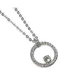 Swarovski Femme Acier Cristal Collier & pendentif chaîne