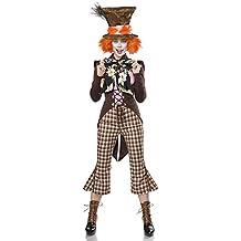 shoperama Super Deluxe Mad Hatter para Disfraz de Mujer del Sombrerero Loco  de Alicia en el 17896348d9d