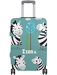 Cute Cartoon Zebra Travellers Choice Travel Equipaje con Ruedas giratorias Maleta de Equipaje de 20 Pulgadas