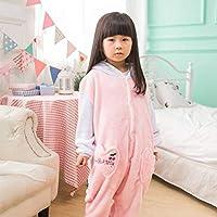 Golden/_flower Kitz 130# Unisex-Schlafanzug Erwachsene Tier-Onesies Einteiliger Schlafanzug f/ür Kinder Flanell Reh Eltern-Kind-Schlafanzug Bademantel Hauskleidung