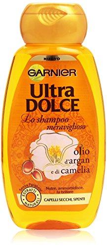 Garnier Ultra Dolce Meraviglioso Shampoo per Capelli Secchi Spenti, 250 ml