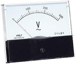 44l1Ac 0–300V Rechteck Analog Panel Volt Meter Voltmeter Gauge