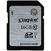 Kingston SD10VG2 UHS-I SDHC, 16GB, Class10, Speicherkarteteller