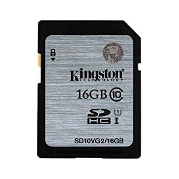 Kingston SD10VG2/16GB - Tarjeta SD UHS-I SDHC/SDXC (Clase 10-16GB)