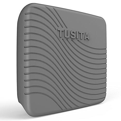 TUSITA Hülle für Raymarine Dragonfly 7 Pro - Silikon Schutzhülle Skin - Handheld GPS Navigator Zubehör Handheld-fishfinder