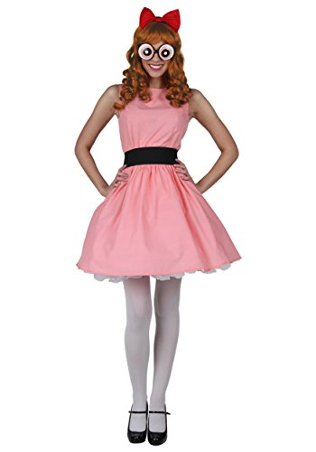 Plus Blossom Powerpuff Girl Fancy dress costume ()