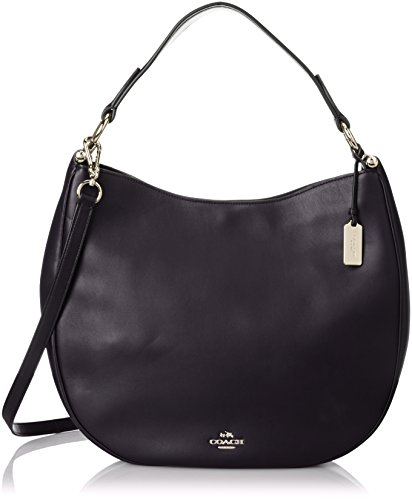 Coach Light Navy Leather Hobo Ladies Handbag 36026LINAV (Coach Hobo)