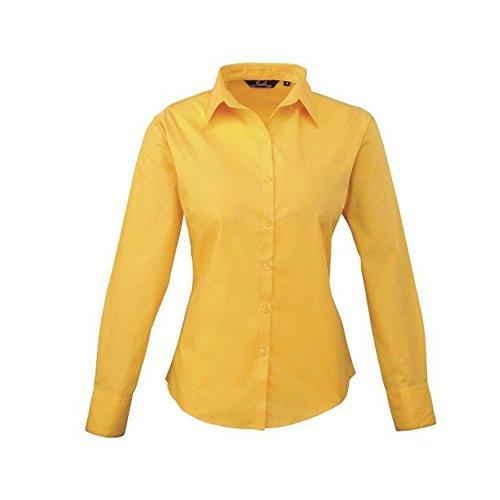 femmes-chemisier-en-popeline-manches-longues-pour-femme-uni-chemise-jaune-40