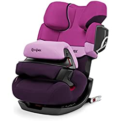 CYBEX Silver Siège Auto Évolutif Pallas 2-Fix, Adapté aux Voitures Avec ou Sans ISOFIX, Groupes 1/2/3 (9-36 kg), De 9 Mois à 12 Ans Environ, Purple Rain