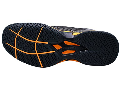 Babolat Homme? S Jet All Court Chaussures de tennis gris/orange