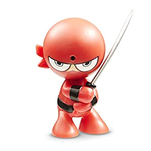Fart Ninjas Silent Samurai (Red/Black) Juguete, Color Rojo y Negro, 8.9-Centimetres (Funrise International 70515)