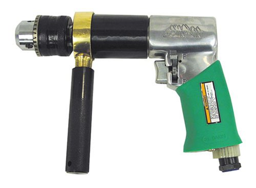 Berg MTN7307 1/2 Zoll Chuck Extra-Heavy Duty Reversible Air Drill - Duty Reversible Air Drill