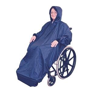 Aidapt VA128ST Regenmantel für Rollstuhlfahrer mit Ärmeln
