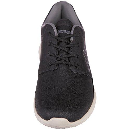 Kappa Speed II Premium, Sneaker Basse Unisex - Adulto Nero (Schwarz (1143 Black/Offwhite))