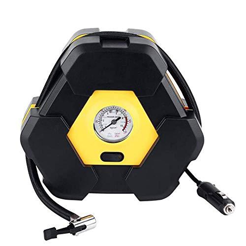 XLKO Tragbarer Autoreifenfüller, Digitale Luftkompressorpumpe mit Reifendruckmesser für Auto-Fahrrad-Basketball-Wasser-Pool-Spielzeug und andere Schlauchboote