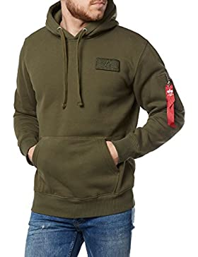 Alpha Industries Hombres Ropa superior / Sudadera Red Stripe