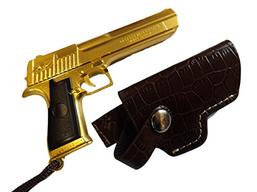 collectable-replica-mens-boys-metal-scale-model-desert-eagle-gold-with-black-handle-gun-pendant-keyr