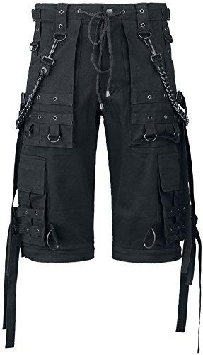 Gothicana by EMP Black Chain (Loose Fit) Hose schwarz Schwarz