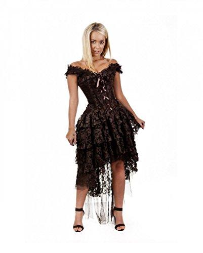 Burleska Ophelie vestito marrone