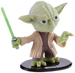 Joy Toy 8516 - Star Wars Yoda Wackelkopf Figur in Displaybox 14 x 17 cm