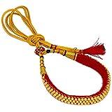 Jaipur Mart Multi-Strand Necklace for Women (Yellow Gold)(PN134GLD)