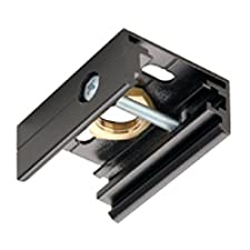 SLV 145730 EUTRAC pendulum clip for 3-phase track, black