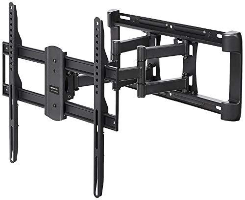 AmazonBasics - TV-Wandhalterung, Doppelarm, voll beweglich - 32-65 zoll