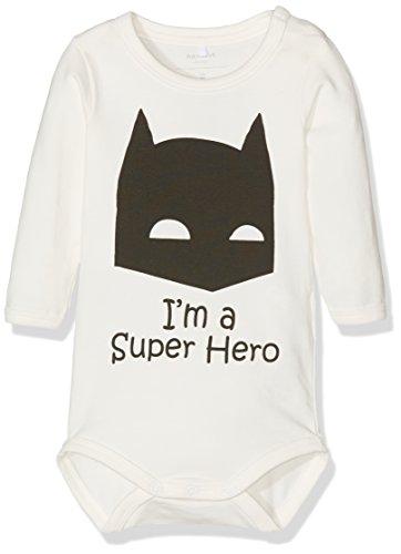 NAME IT Baby Body Superhero Batman (74, Weiß)