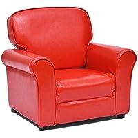 Preisvergleich für ALUK- small stool Kleines Sofa der Kinder, einfacher moderner Sitz, Kinderraum-Lesestuhl, schöne Farben, bequemes helles Mini Sofa L61cm * W45cm