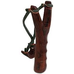 Catapulta Shot Sling Kit por Thai hecho a mano de madera único estilo clásico: hondas de caza deportes al aire libre
