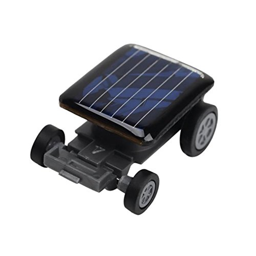 TOOGOO energia de alta calidad mas pequeno mini coche energia solar juguete coche racer chisme educativo ninos juguetes del cabrito calientes venta solar juguete negro