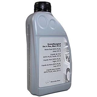 Original Bremsflüssigkeit von Mercedes Benz A0009890807 13, Dot 4 Plus, Blatt 331.0