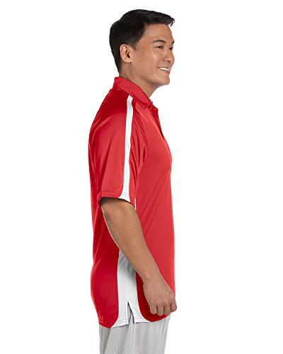 Russell Athletic Herren Team Spiel Tag Polo True Red/White