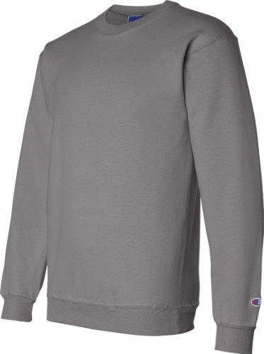 Champion Double Dry Men's Eco Fleece Crew Grau - Charcoal Heather