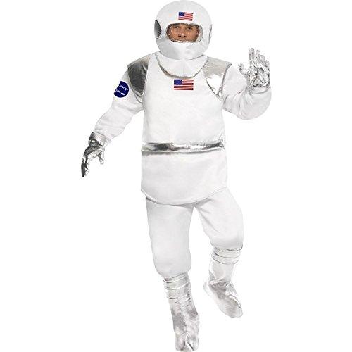 Herren Kostüm Astronaut Raumfahrer Raumanzug Karneval Fasching (Astronaut Kostüme Raumanzug)