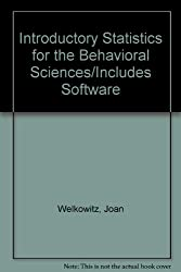Introductory Statistics for the Behavioral Sciences/Includes Software