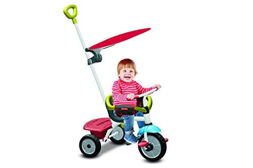 Fisher-Price - FP3450733 - Tricycle - Jolly Plus - 3 en 1 - Rouge/Vert