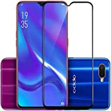 VALUEACTIVE Accessories For All Tempered Glass for Oppo K1 (5D)-Edge to Edge Full Screen Coverage