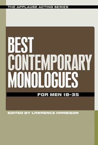 Best Contemporary Monologues for Men 18-35 (The Applause Acting Series)