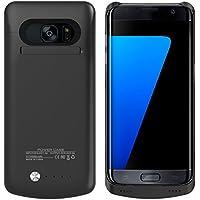 Edge, 5200 mAh S7-Custodia con batteria di Backup ricaricabile esterna portatile-Caricabatterie Power Pack per Samsung Galaxy, S7 Edge