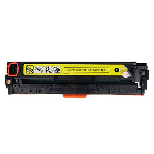 Ersatz-Tonerkartusche für HP HP126A Laserjet Pro CP1025 1025nw M275mfp M175a M175nw Laserdrucker CE310A CE311A CE312A CE313A Farbe 1 x Yellow