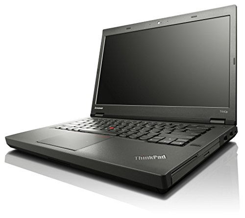 'Lenovo ThinkPad T440p - PC portatile - 14 HD + - Nero (Intel Core i5 - 4300 M/2.60 GHz, 4 GB di RAM, Disco rigido 240 GB SSD, Webcam, Windows 10 professionale)
