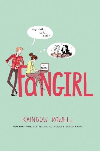 Buchseite und Rezensionen zu 'Fangirl: A Novel' von Rainbow Rowell